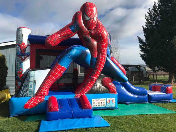 spiderman water slide