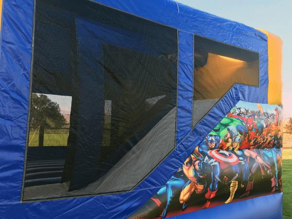 Advengers inflatable slide