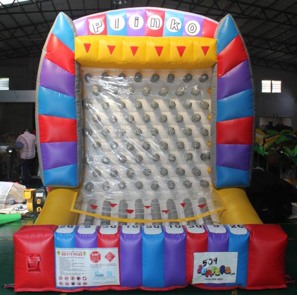 inflatable interactive plinko game (3)